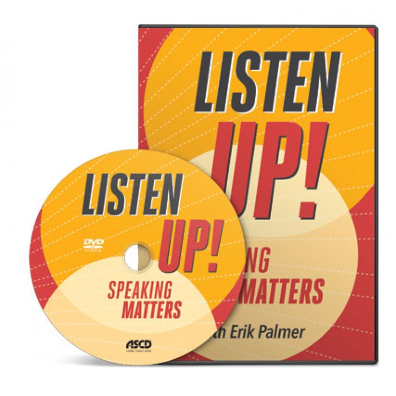 Listen Up! Speaking Matters DVD, April/2016