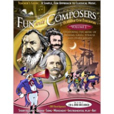 Fun with Composer's Teacher Guides: A Simple, Fun Approach to Classical Music, Volume I (Gr. 3 – Gr. 7)
