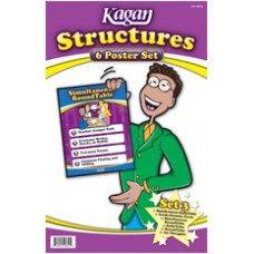 Kagan Structures Poster Set 3