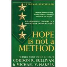 Hope is Not a Matter