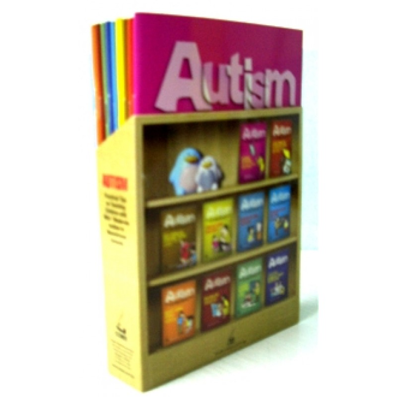 Autism: Practical Tips on Teaching Children with Mild/Moderate Autism in Mainstream Schools Set with Book Holder (Paper 1- 10)