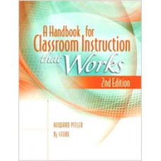 A Handbook for Classroom Instruction That Works, 2nd Edition, Oct/2012