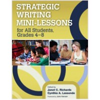 Strategic Writing Mini-Lessons for All Students, Grades 4-8, Nov/2012