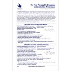 PG 13: The Five Personality Dynamics: Communication Preferences
