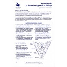 PG 23: The World Cafe: An Innovative Approach to Dialogue